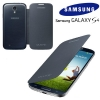 Galaxy S4 IV (I9500)  - Чехол FLIP COVER (Dark Blue) EF-FI950BBEGWW