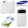 Galaxy S4 IV (I9500)  - Чехол (White S View Cover!) ORIGINAL (EF-CI950BWEGWW)