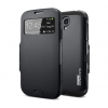 Samsung Galaxy S4 IV (I9500) - Чехол SLIM ARMOR S VIEW COVER (Black)