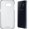 Galaxy S7 Edge (G935) - Чехол накладка оригинальный Protective Cover Clear (Black) EF-QG935CBE