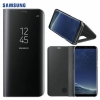 Galaxy S8 (G950) - Чехол оригинальный S View Flip Cover Standing Clear Black EF-ZG950CBE