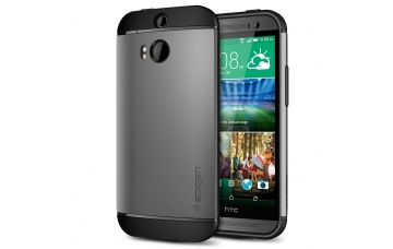 Чехол SLIM ARMOR (SGP) для HTC One (M8) - GunMetal