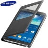 Galaxy Note 3 (N9000) - Чехол Black S View Cover ORIGINAL (EF-CN900BBESTA)