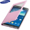Galaxy Note 3 (N9000) - Чехол (S View Cover!) ORIGINAL (EF-CN900BWEC) Розовый