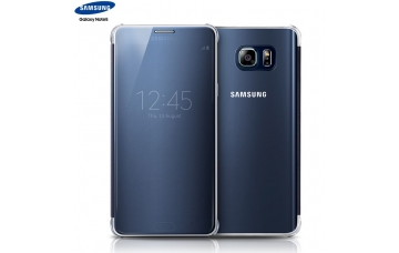 Оригинальный чехол для Samsung Galaxy Note 5 N920 S View Clear Flip Cover (Black sapphire)