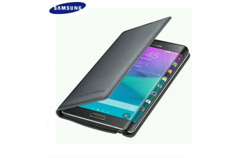Чехол (Flip Wallet Black) Original для Samsung Galaxy Note EDGE (N915) EF-WN915BCEG